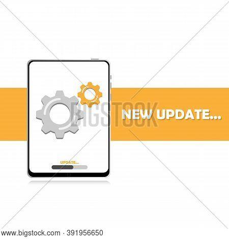 Update The System Software On Your Tablet, Update Data, Or Sync With The Progress Bar On The Screen.
