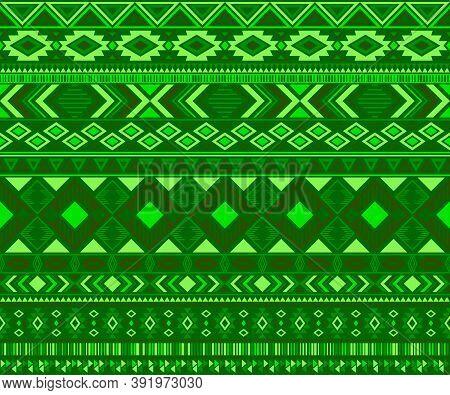 Peruvian American Indian Pattern Tribal Ethnic Motifs Geometric Seamless Background. Beautiful Nativ