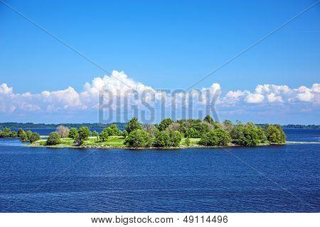 Small island near Kizhi