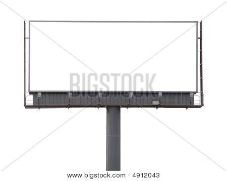 Large Rusty Billboard