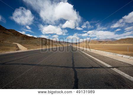 Road Of Friendship In Tibet - Going To Kathmandu