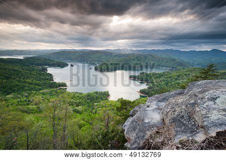 Lake Jocassee Upcountry South Carolina Landscape Scenic