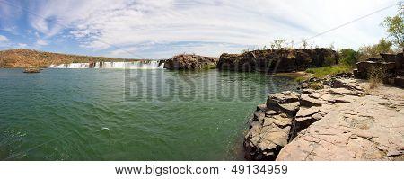 Gouina Falls Or Chutes De Gouina In Mali