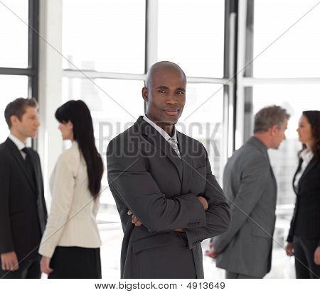 Full Length Business Team