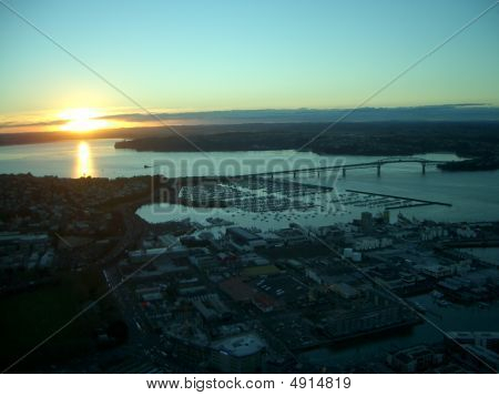 A View From Auckland Tower