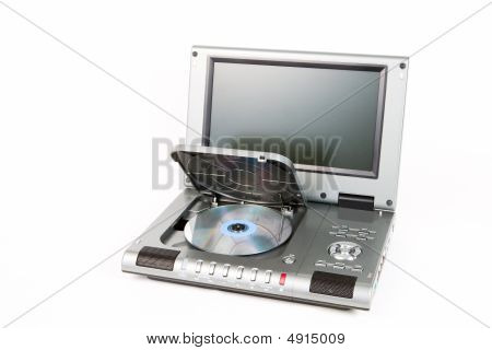 Dvd Player With Open Lid