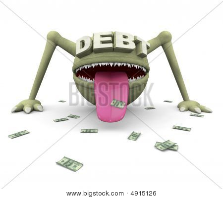 The Debt Monster Is Coming For You