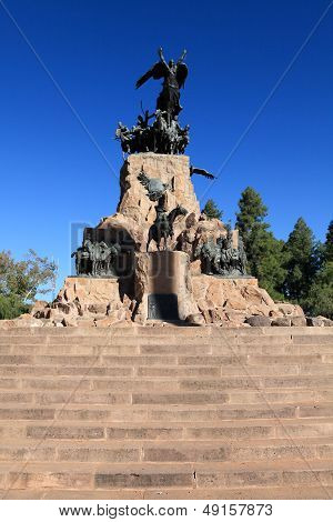 monument to san martin,argentina