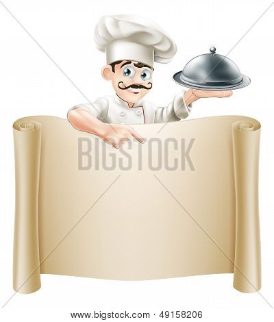 Chef Menu Scroll