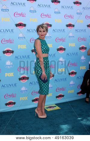 LOS ANGELES - AUG 11:  Chelsea Kane at the 2013 Teen Choice Awards at the Gibson Ampitheater Universal on August 11, 2013 in Los Angeles, CA