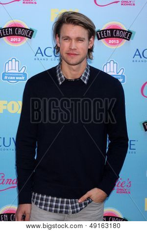 LOS ANGELES - AUG 11:  Chord Overstreet at the 2013 Teen Choice Awards at the Gibson Ampitheater Universal on August 11, 2013 in Los Angeles, CA