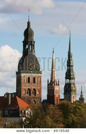 Towers Of Riga