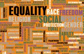 Social Equality Respect for Every Race and Gender poster