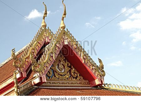 Thai Buddhist Temple Fine Art
