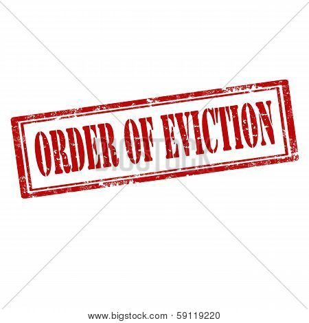 Order Of Eviction-stamp