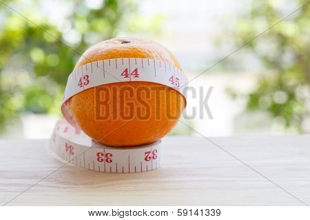 Orange And Measurement Tape