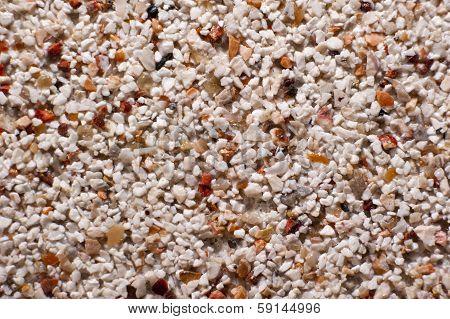 Gravel Pattern Sand Color Background