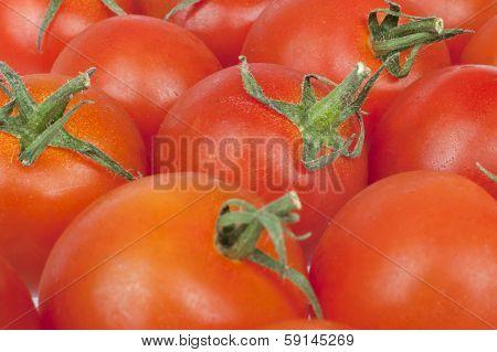 Bunch Of Tomatoes Alongside