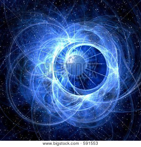Blue Galaxy Light