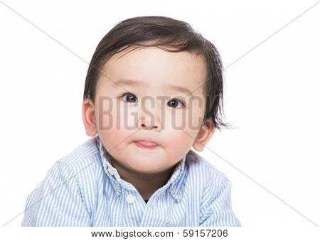 Asian baby portrait