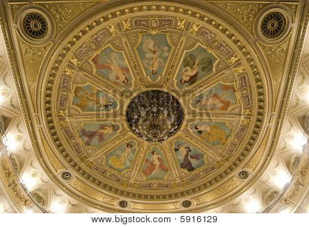 Opera theater ceiling chandelier
