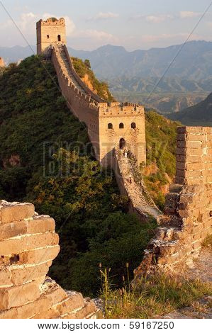 Evening Great Wall - China