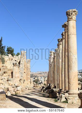 Roman Street, Jerash