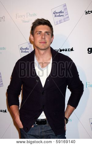 LOS ANGELES - JAN 28:  Chris Lowell at the