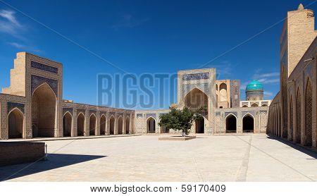 View Of Kalon Mosque - Bukhara - Uzbekistan