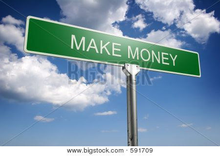 Make Money Concept