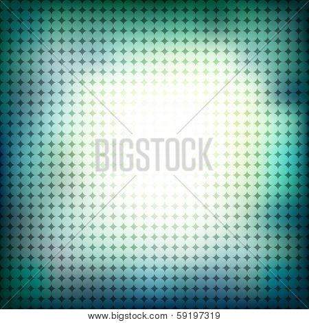 abstract green halftone background design stock vector