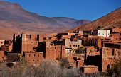 Kasbah of Ait Benhaddou in Morocco poster