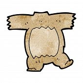 cartoon teddy bear body (mix and match cartoons) poster