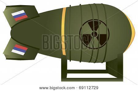 Russian Aviation Atomic Bomb