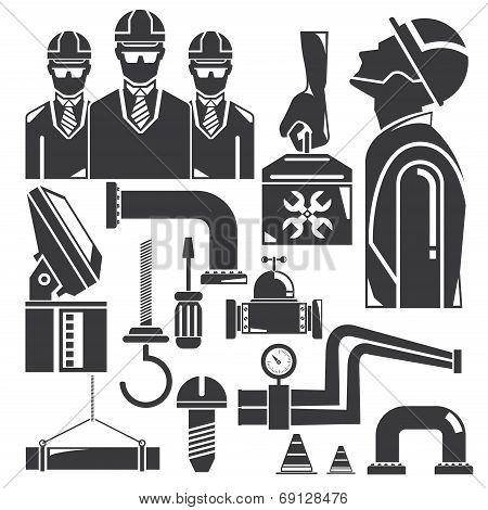 tools, engineering set