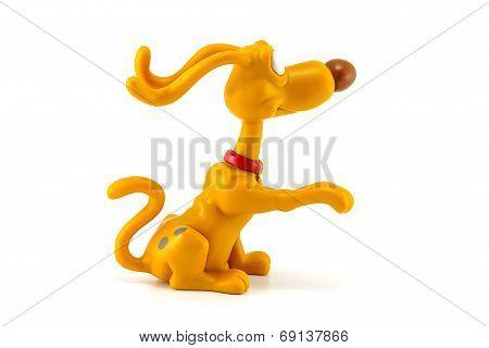 Spike dog figure toy