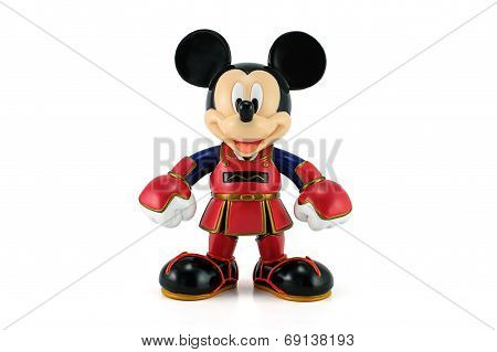 Mickey Mouse wear a kendo suit
