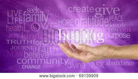 High Resonance Healing Words