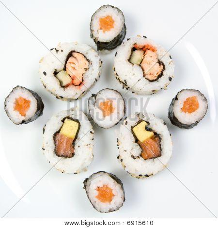 Sushi Hosomaki Uramaki