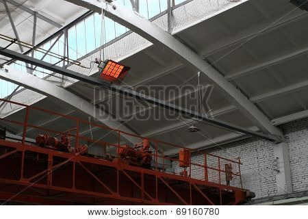 Infra-red gas heating