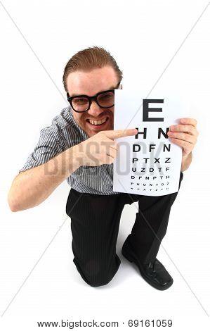 Man As Ophthalmologist