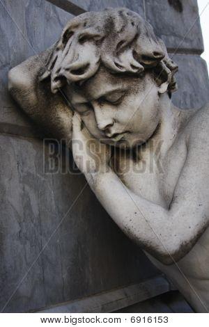 Sleeping Statue