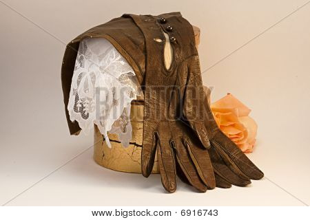Old Gloves And Hankie