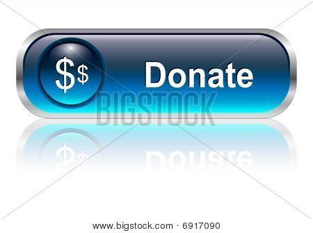 Donate icon, button
