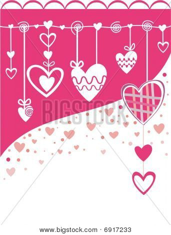 Love. Background with hearts