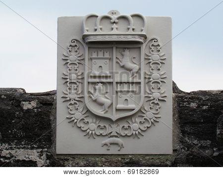 Castillo de San Marcos Royal Crest
