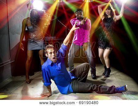 Funky White Boy Dancing
