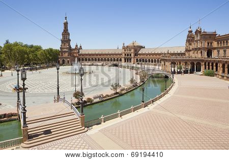 Spain Square View
