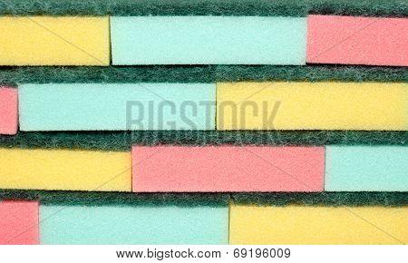 Sponge Cleaning Scourers