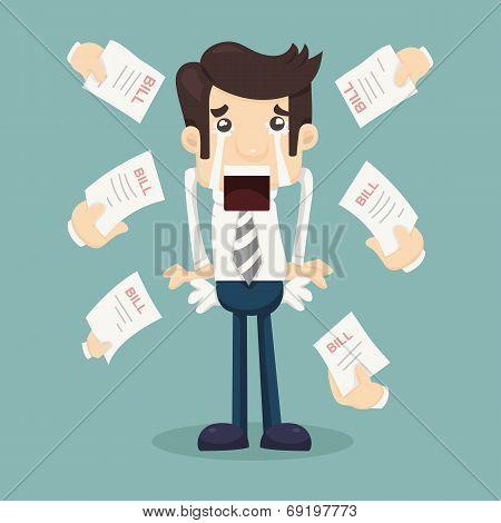 Businessman No Money
